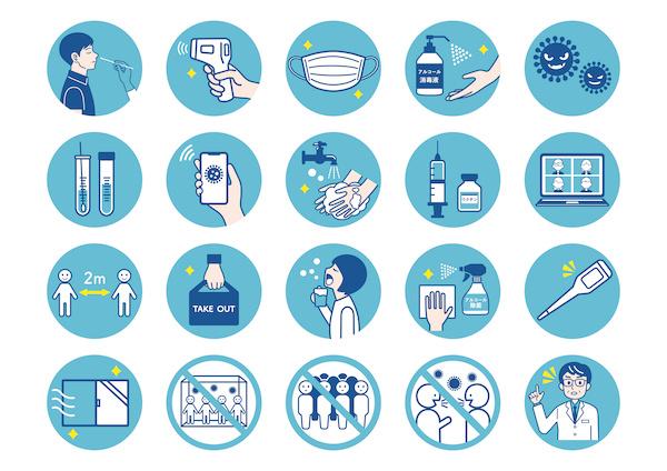新型コロナウイルス感染症対策製品