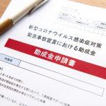 新型コロナウイルス感染症対策の助成金申請書