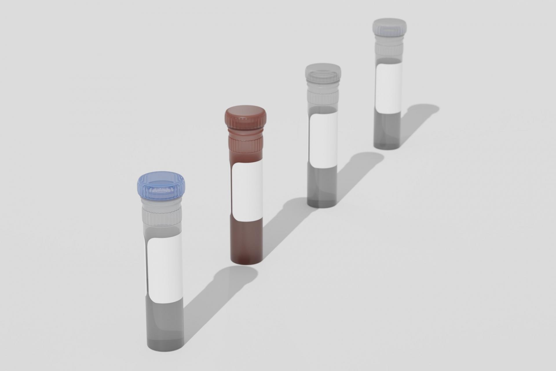 新型コロナウイルスPCR検査の試験管